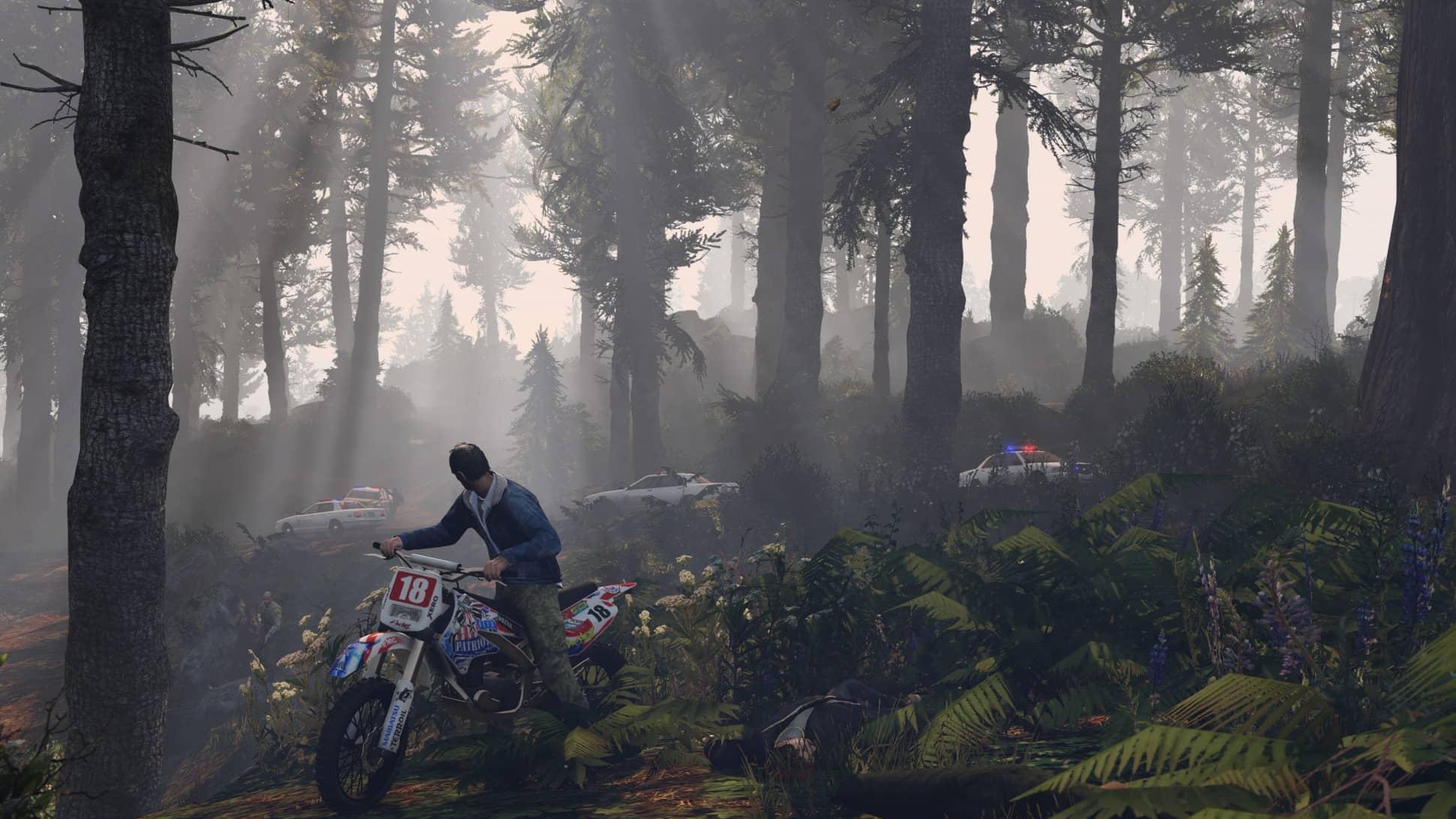 Скриншот Grand Theft Auto V №4