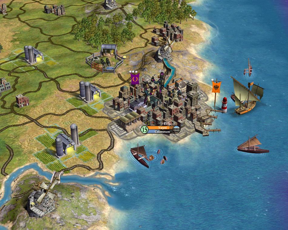Игре Civilization 4