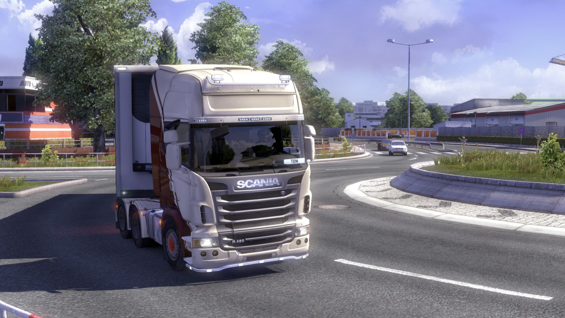 игра euro truck simulator играть онлайн