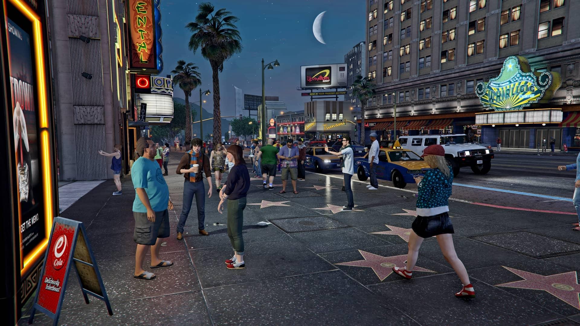 Скриншот Grand Theft Auto V №2