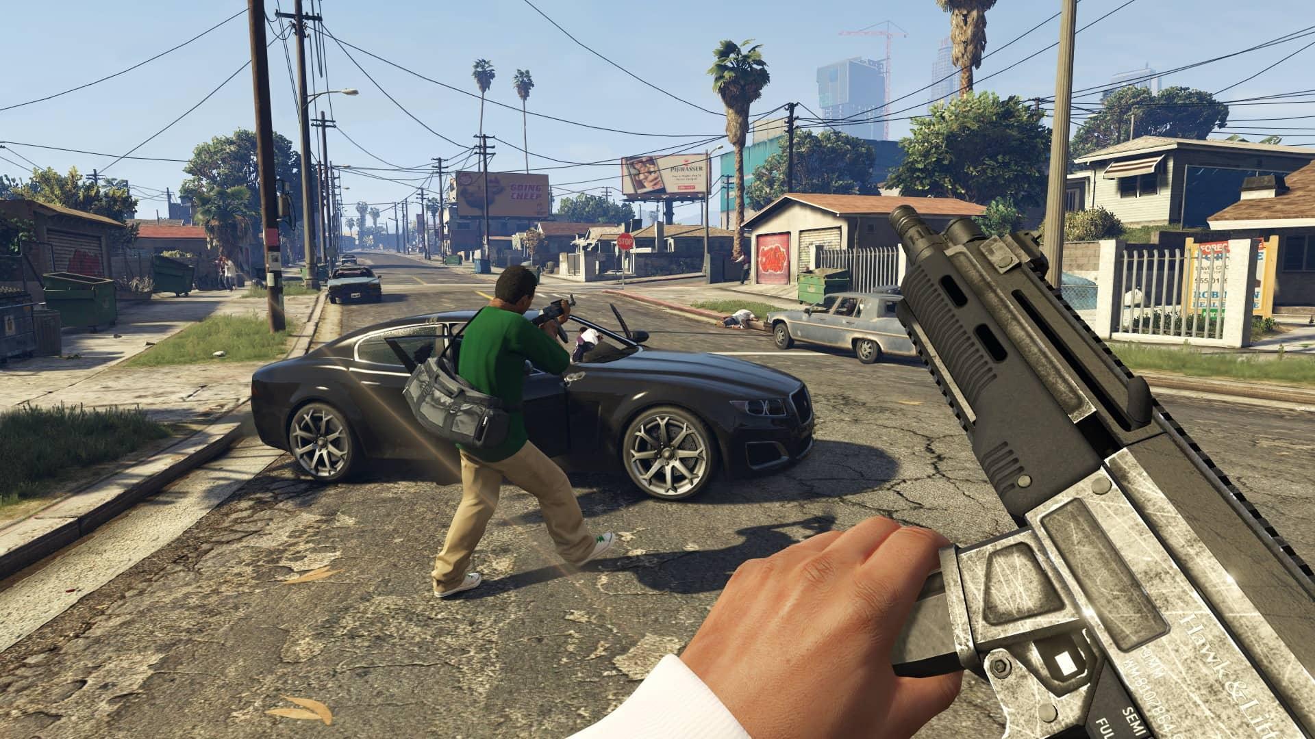 Скриншот Grand Theft Auto V №1